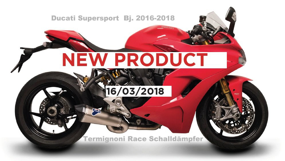Ducati Supersport Bj. 16-18 Art.: D18109440 ITC